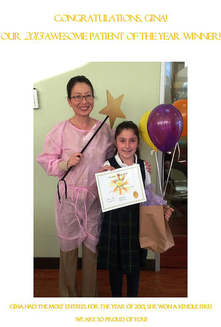 2013 orthodontics patient of the year
