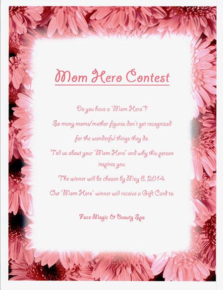mom hero contest