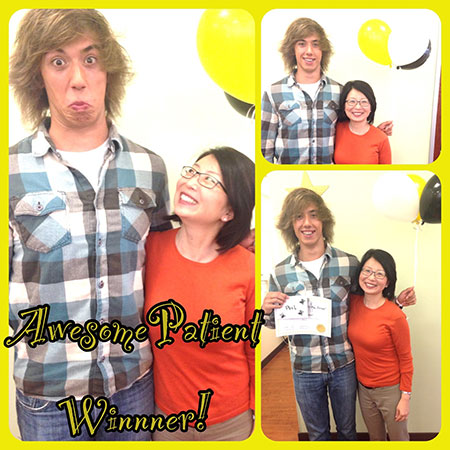 awesome patient contest winner